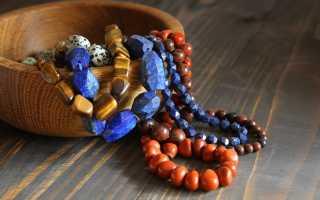Украшения из натуральных камней: стильно и необычно