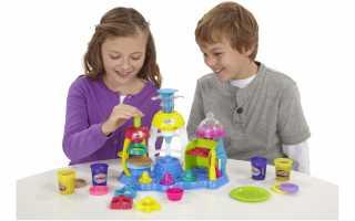 Наборы Play-Doh —неограниченные возможности для детского творчества