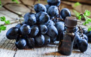 Масло косточек винограда – драгоценные капли молодости
