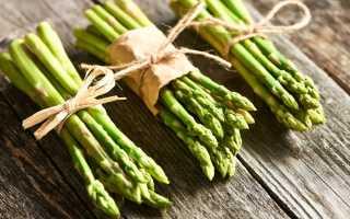 Спаржа — полезный продукт при похудении