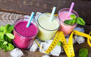 Домашние коктейли для похудения — лучшие рецепты