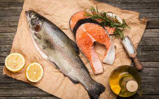 Польза и калорийность красной рыбы при похудении