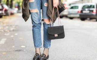 С какой обувью носить джинсы?