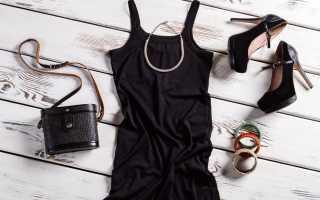 Аксессуары к черному платью: самые беспроигрышные варианты