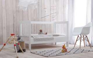 Как выбрать хорошую детскую кроватку