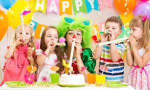 Как провести день рождения ребёнка дома