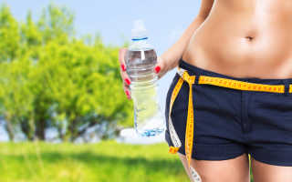 Как вывести воду из организма для похудения?