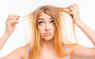 Ломкие волосы: причины и лечение