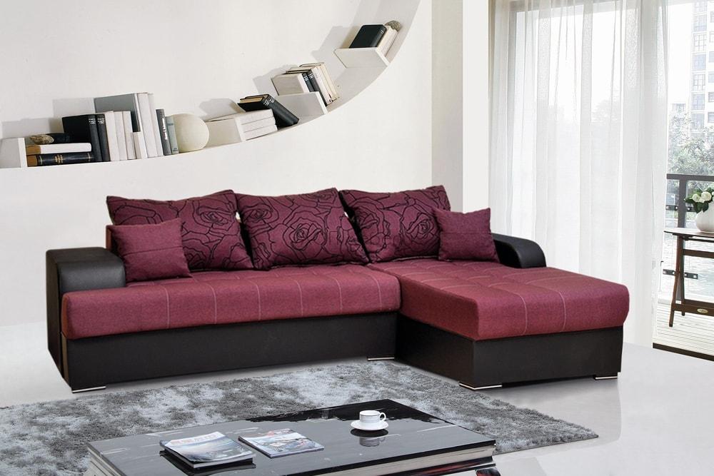 левосторонний угловой диван