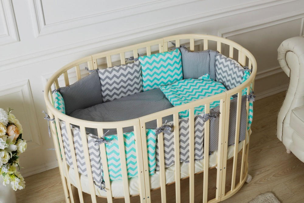 кроватка для новорожденного с бортиком