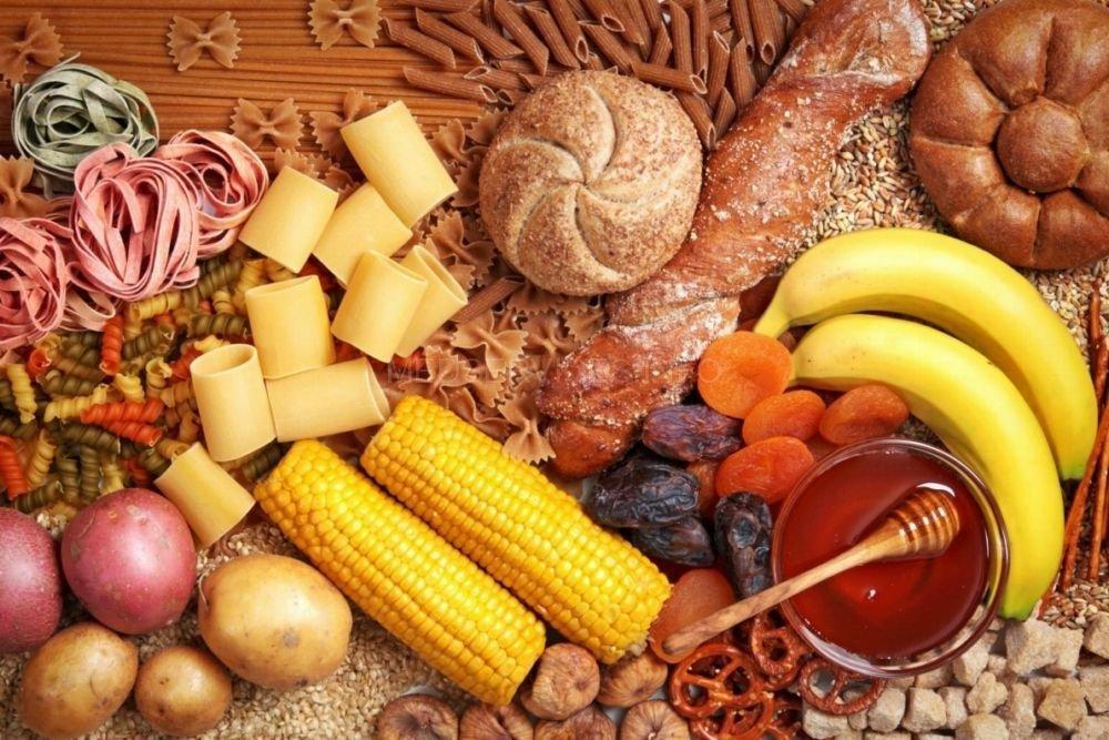 Углеводы в разной еде