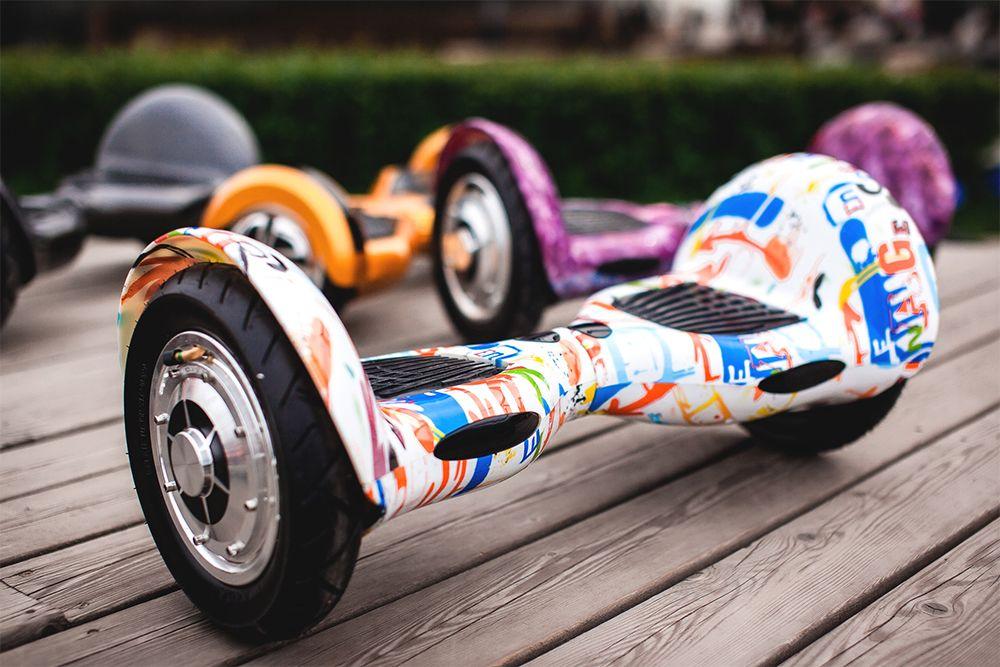 разноцветный гироскутер