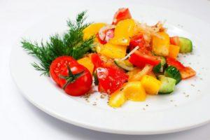 салат с весенний